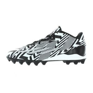 Mens Black White Filthyspeed MD Football Cleats